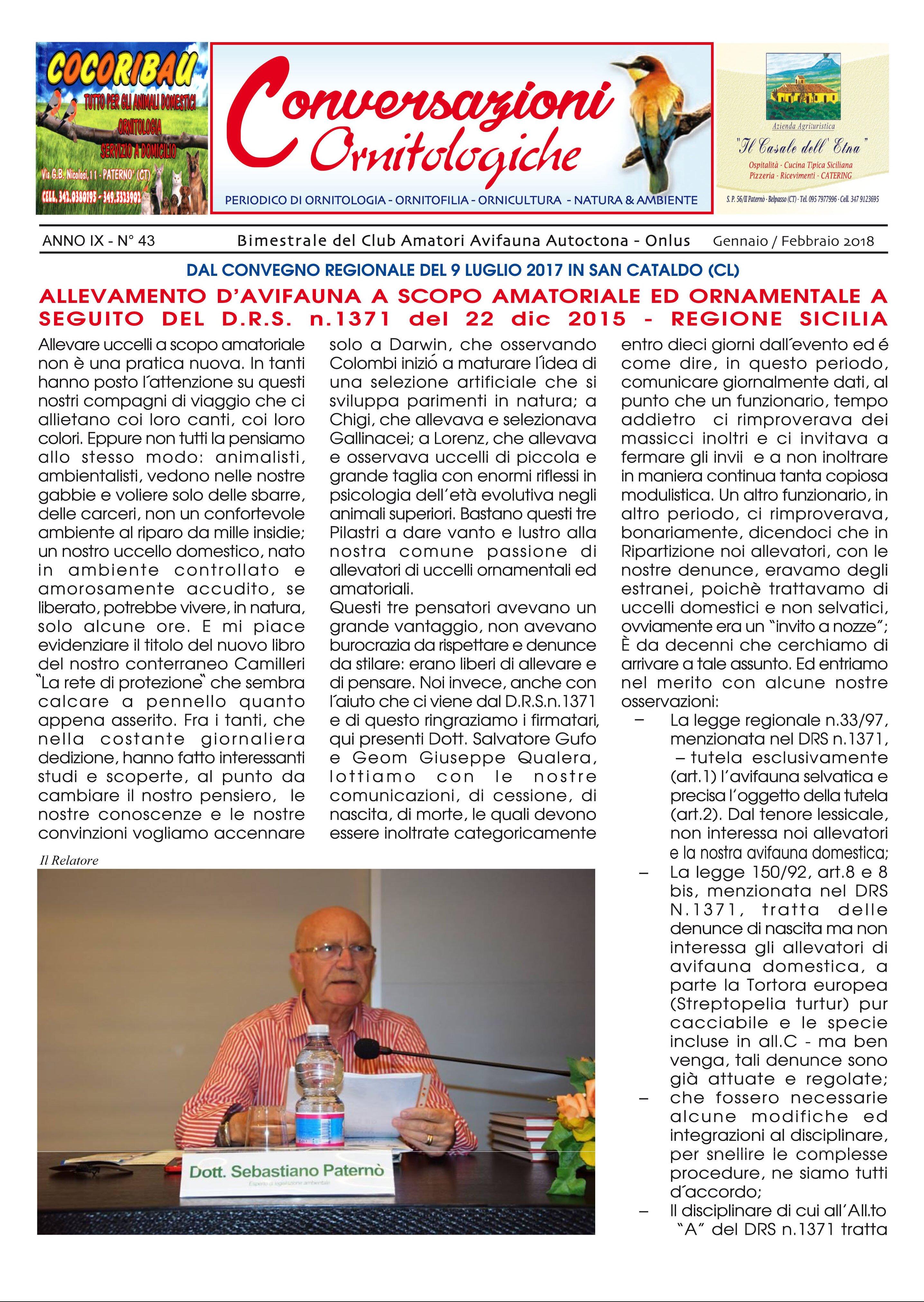 Calendario Mostre Ornitologiche 2019 Sicilia.2 Febbraio 2018 Ultime News Club Amatori Avifauna